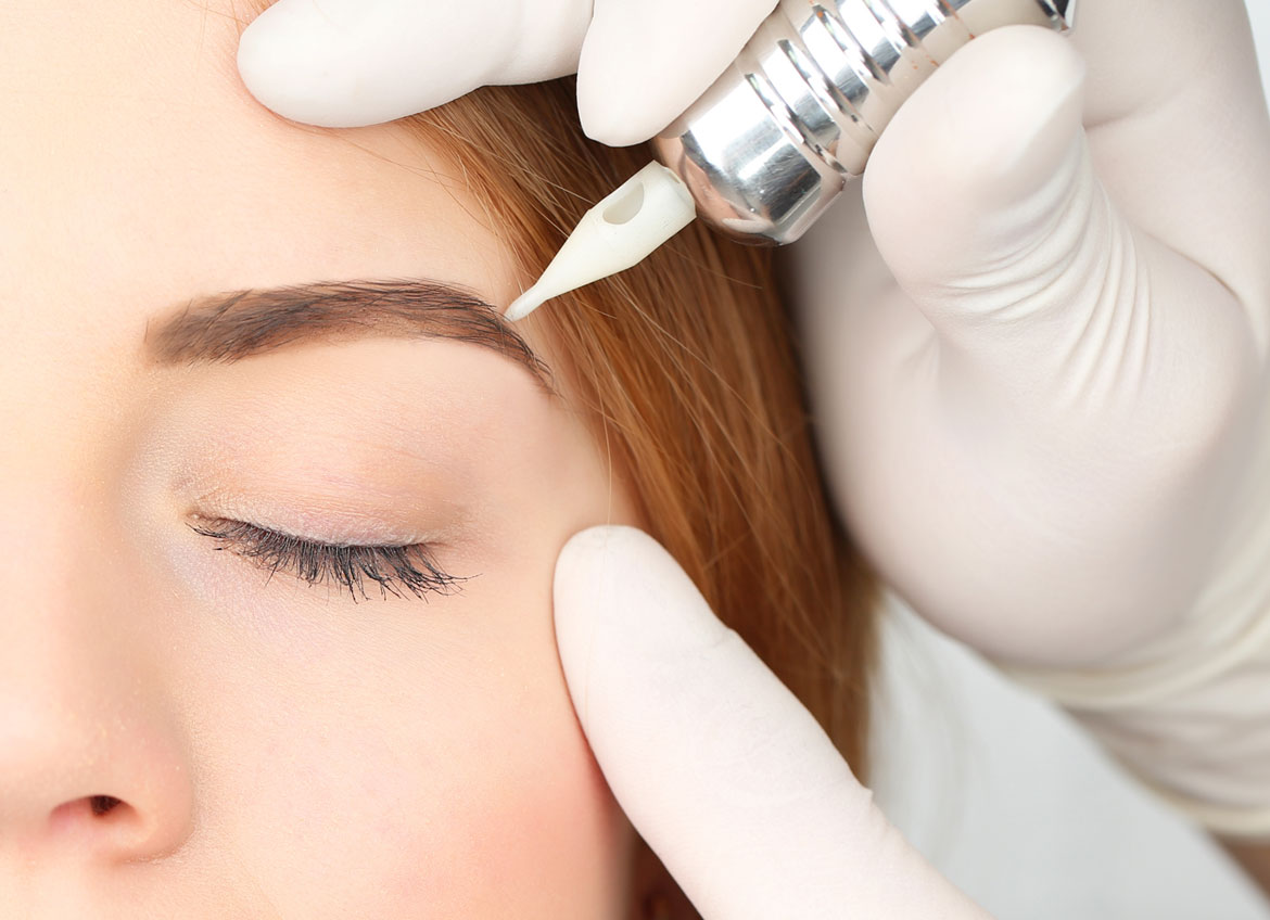 Permanent Eyebrows University Dermatology Center Indiana